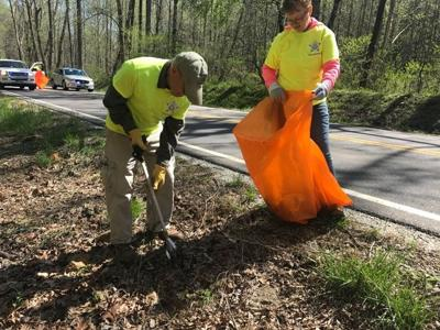 Keeping Amherst beautiful: Dozens of volunteers mobilize to