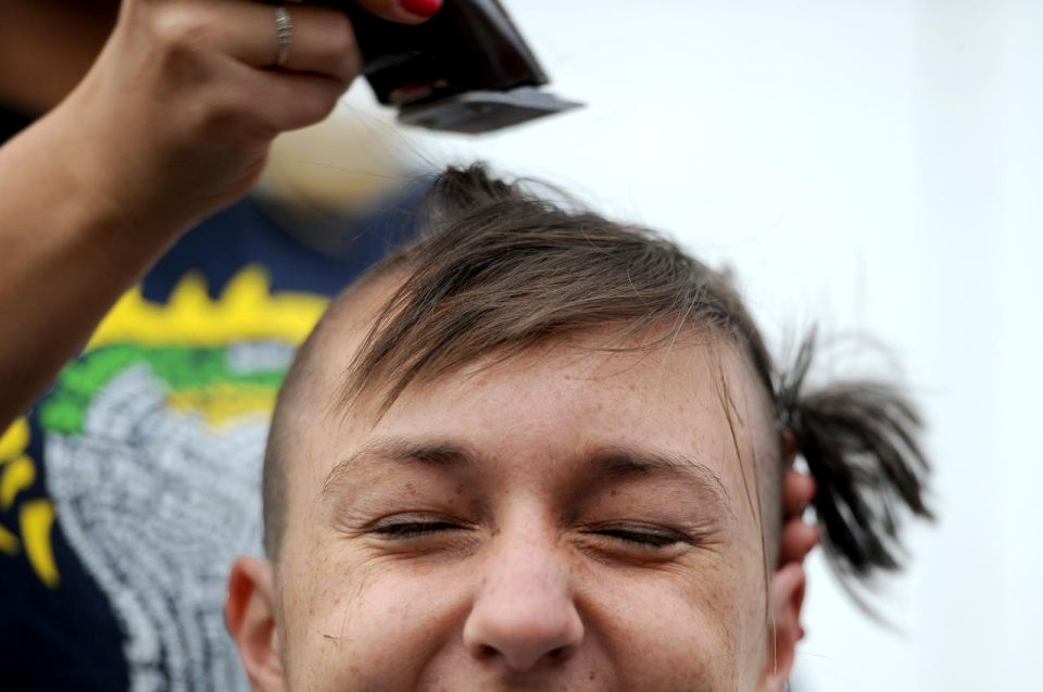 Shave And A Haircut For A Cause Local News Newsadvance