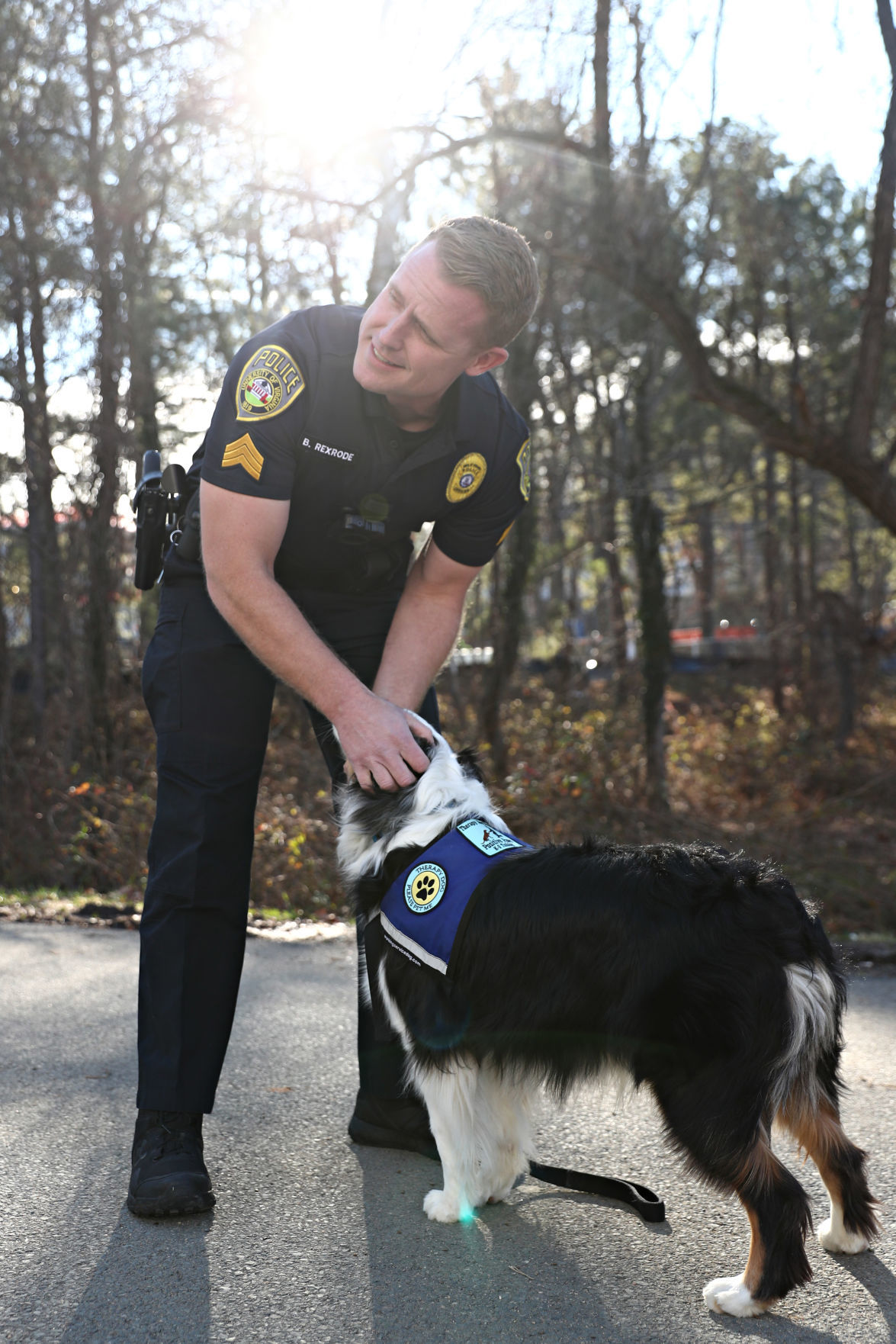 UPD therapy dog