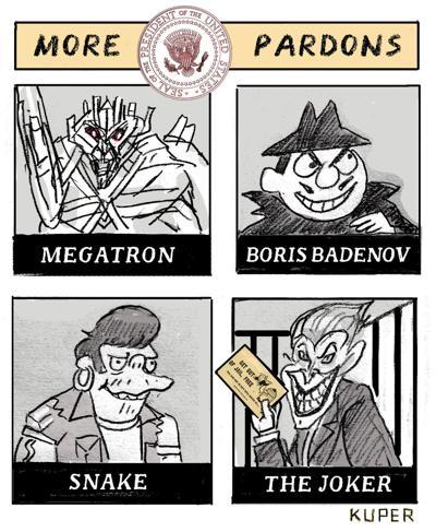 More Pardons