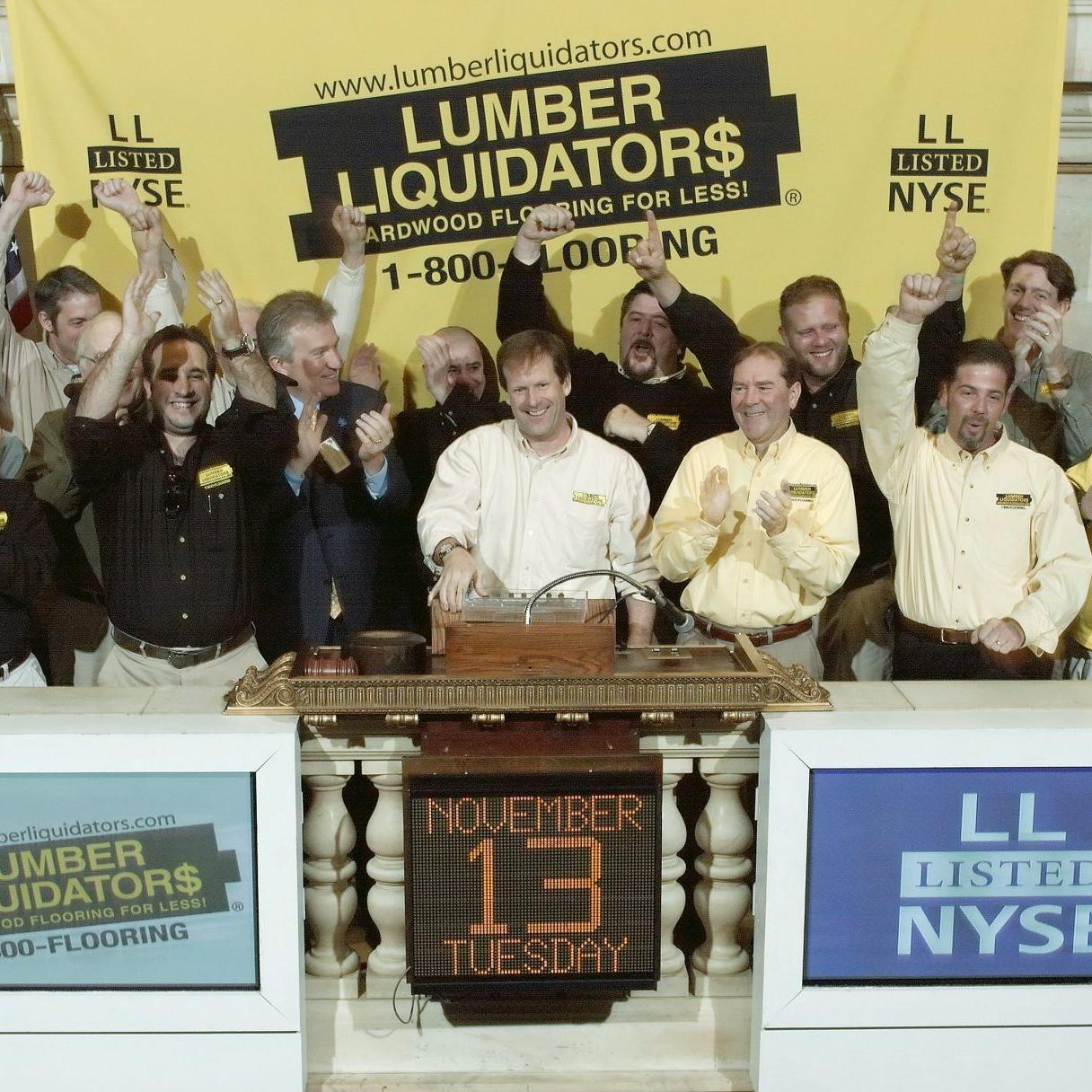 Lumber Liquidators founder interested in exploring