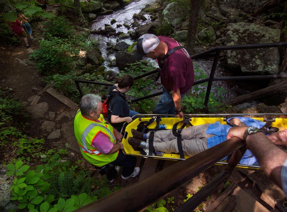 Man Who Died At Crabtree Falls Was Visiting As Part Of