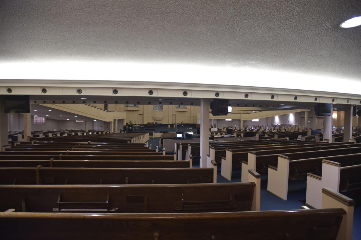 Back in service: Old Thomas Road Baptist Church becomes new