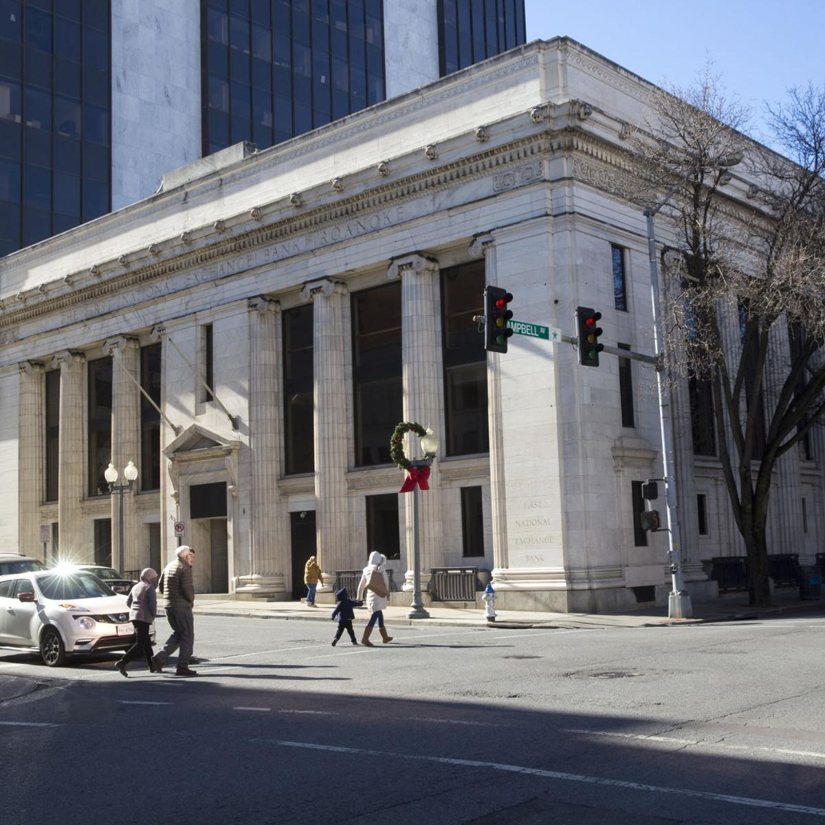 Former Wells Fargo Bank Building In Downtown Roanoke Donated To