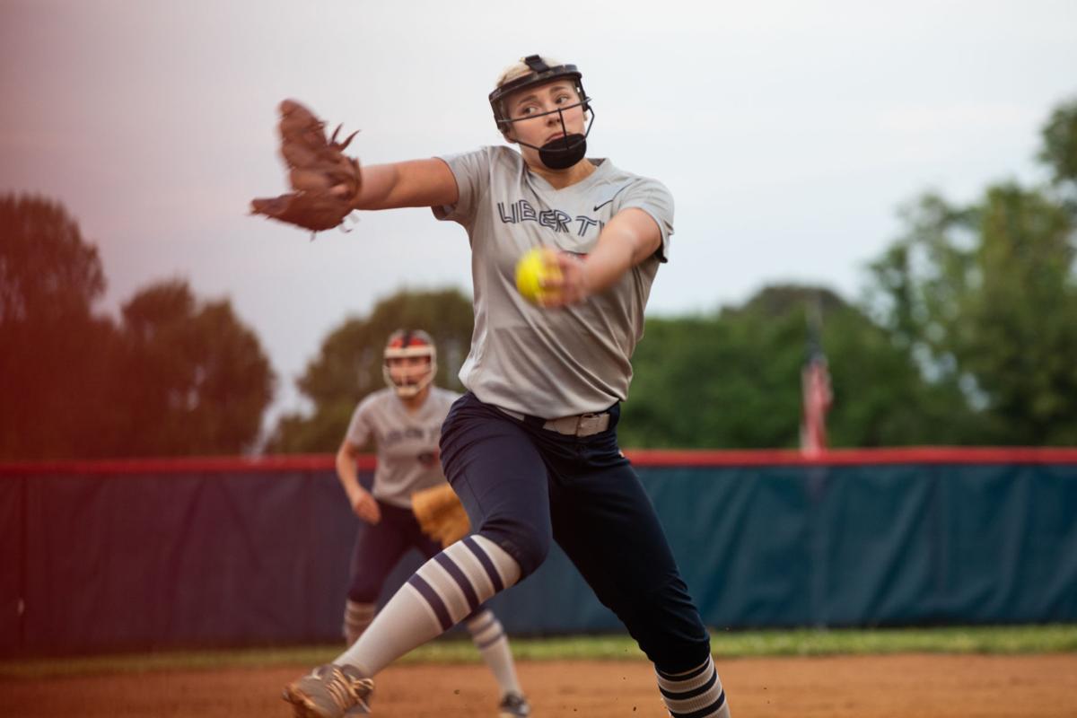 Brookville at Liberty softball 10