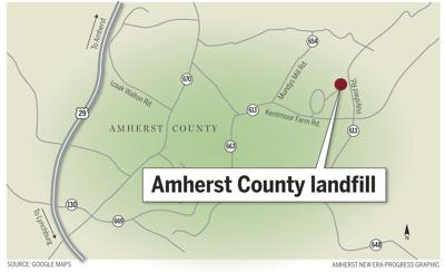 Amherst landfill map