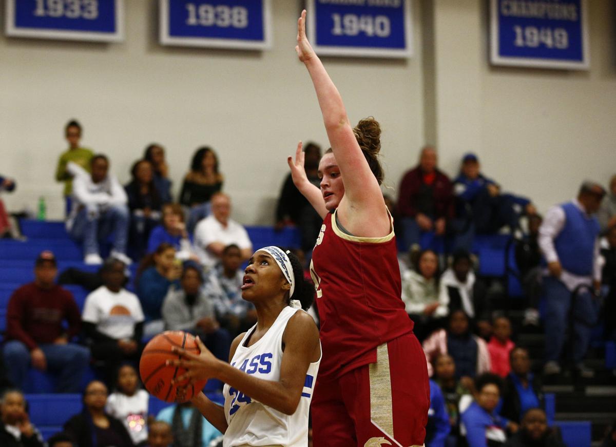 Region 4D girls basketball championship game 6
