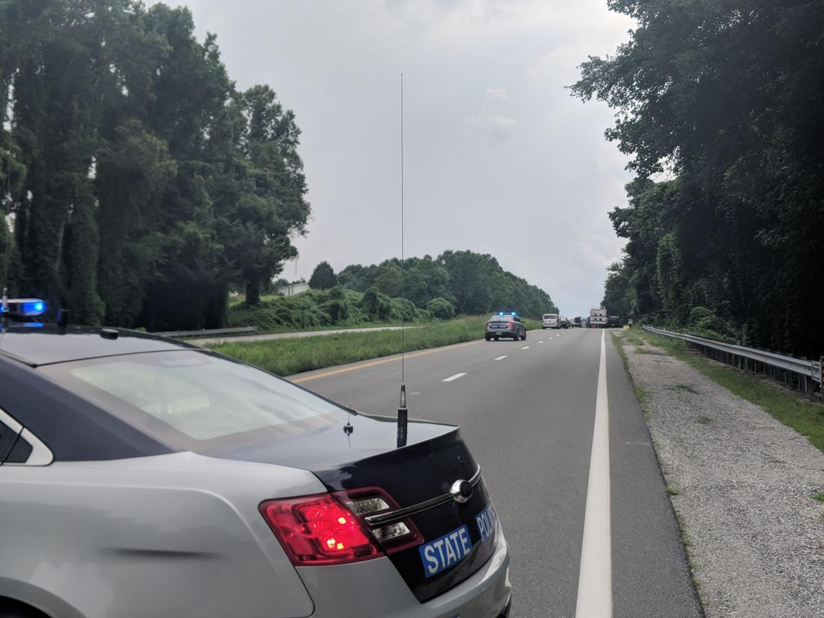 U.S. 29 road closure
