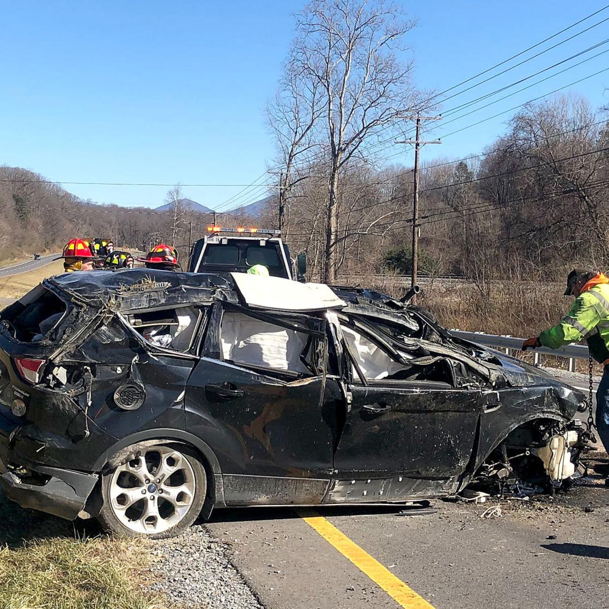 Update: Police ID woman killed in Bedford County crash