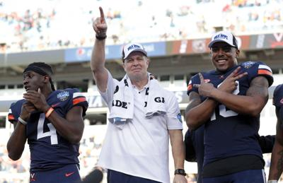 Virginia football coach Bronco Mendenhall named Bobby Ross ...