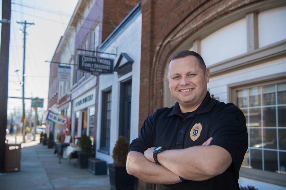 Amherst police chief Bobby Shiflett