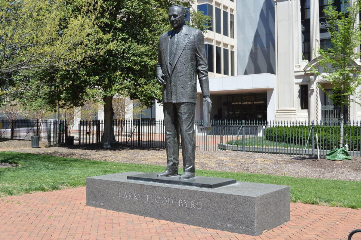 Harry Byrd statue