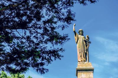Sweet Briar statue