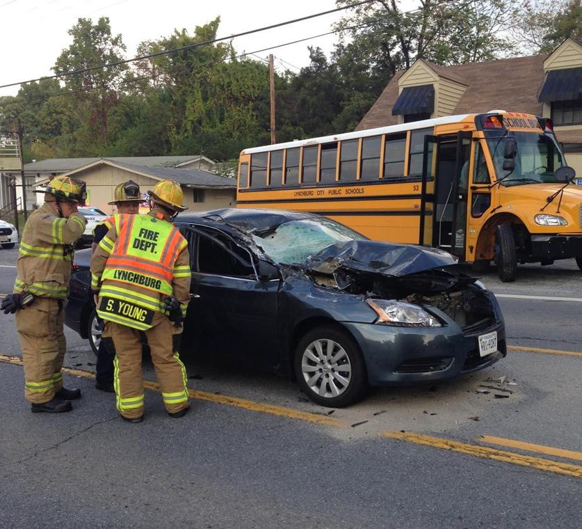 No Injuries In Lakeside Drive School Bus Accident