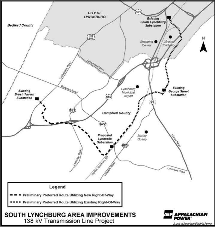 APCo Announces Preferred Route For $32 Millon Upgrade In