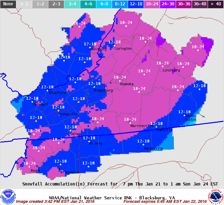 Lynchburg Declares State Of Emergency Ahead Of Potential