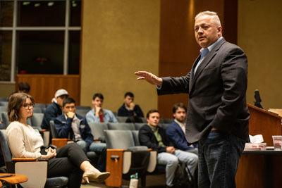Riggleman tells UVa group he plans to stay true to values of freedom