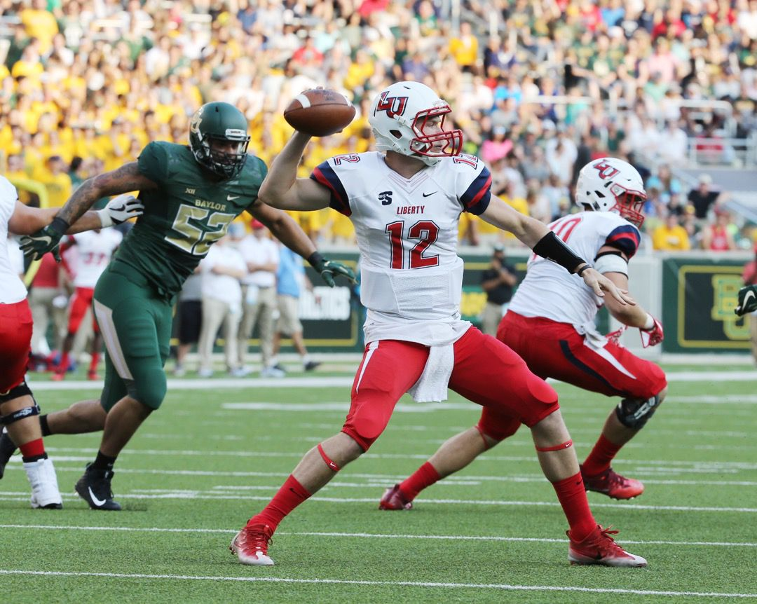 Liberty stuns Baylor in football opener