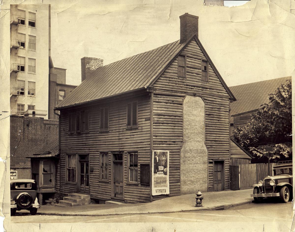 1930s ish Miller Claytor house in its original location.jpg