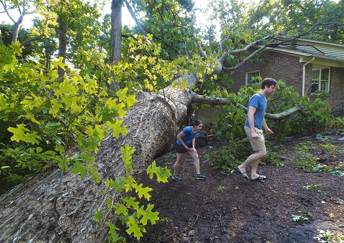 Lafayette Storm Damage