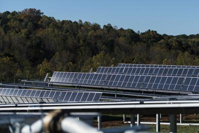 Solar farm file photo