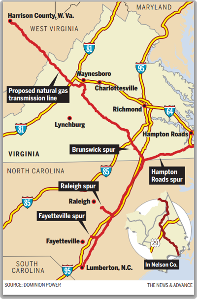 Map: Pipeline proposal