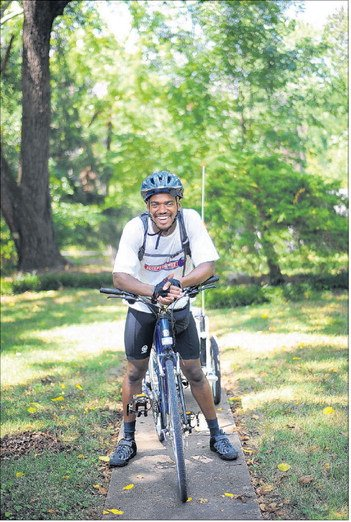 Man plans bike trip to see son, raise money for Lynchburg clinic