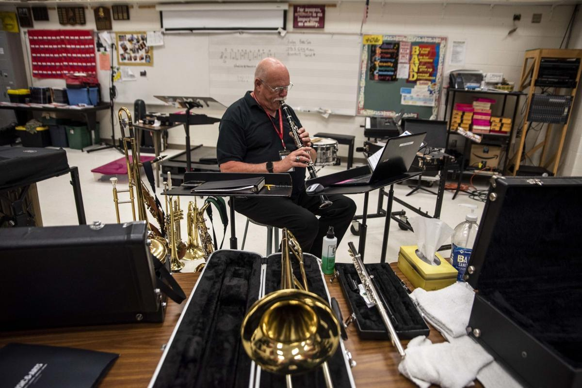 Teaching band remotely