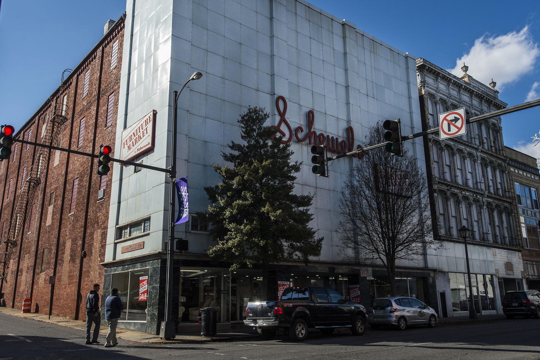 Photos: Schewels Furniture Downtown Store Closing | Business |  Newsadvance.com