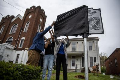 State historical marker unveiled on 5th St. recognizing first Black veterinarian
