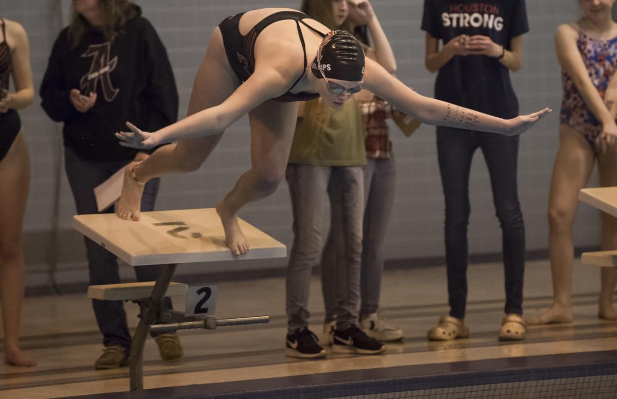 Amherst swim, 2