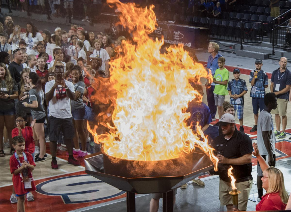 State Games of America opening ceremony