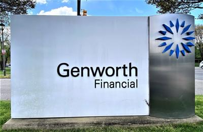 Genworth Financial's corporate headquarters sign