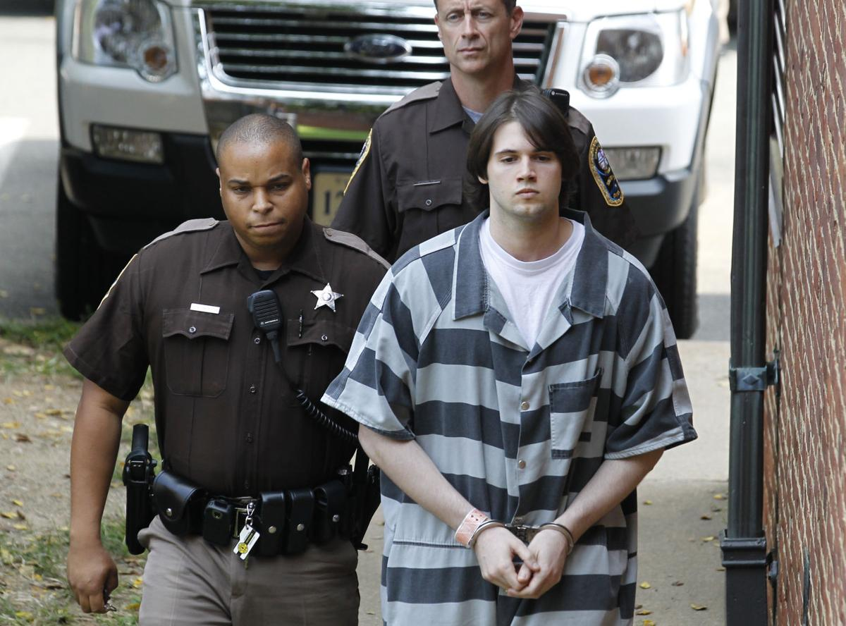 George Huguely sentencing file photo