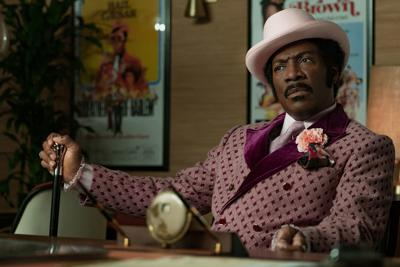 Eddie Murphy is back, baby, in the lowdown and fizzily high-spirited 'Dolemite Is My Name'