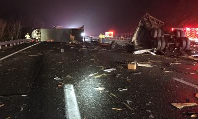 Afton Mountain crash