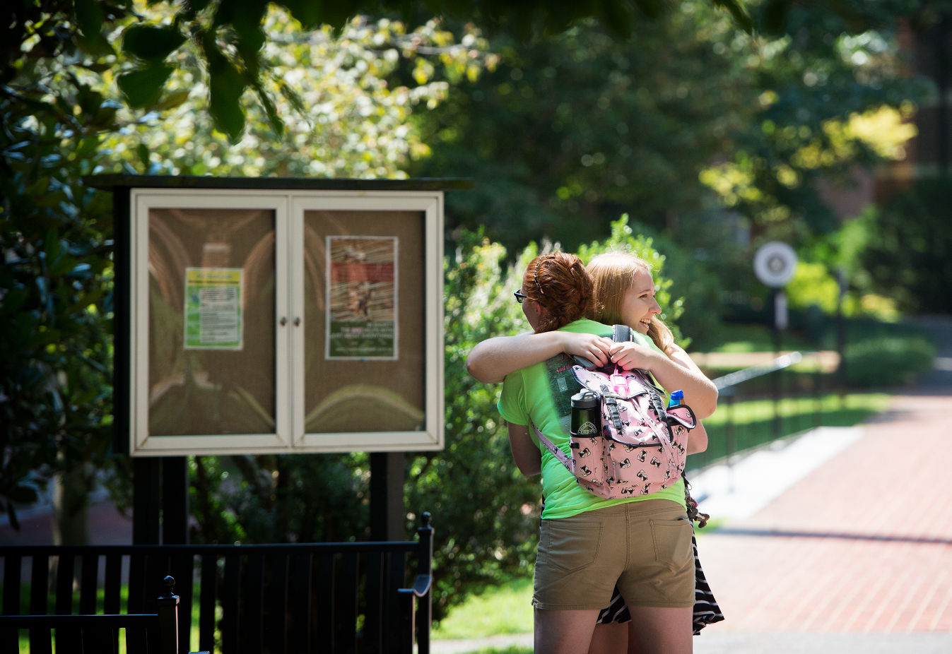 Students move in at Sweet Briar College