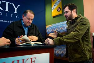 Huckabee's book tour stops at Liberty University - Lynchburg News and Advance