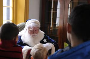 The Santa that started it all makes his rounds