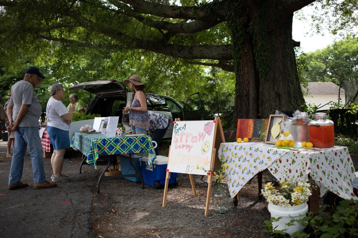 Second stage farmers market