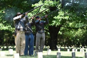 Decoration Day salute at Lynchburg's Old City Cemetery puts focus on the fallen