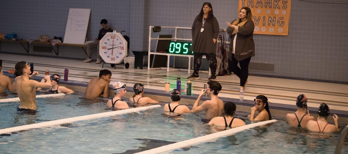 Amherst swim, 1