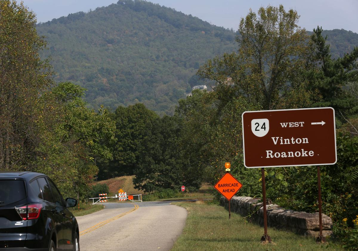 Blue Ridge Parkway closed at Virginia 24