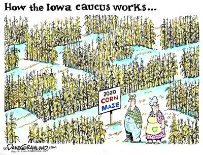 The Iowa Corn Maze