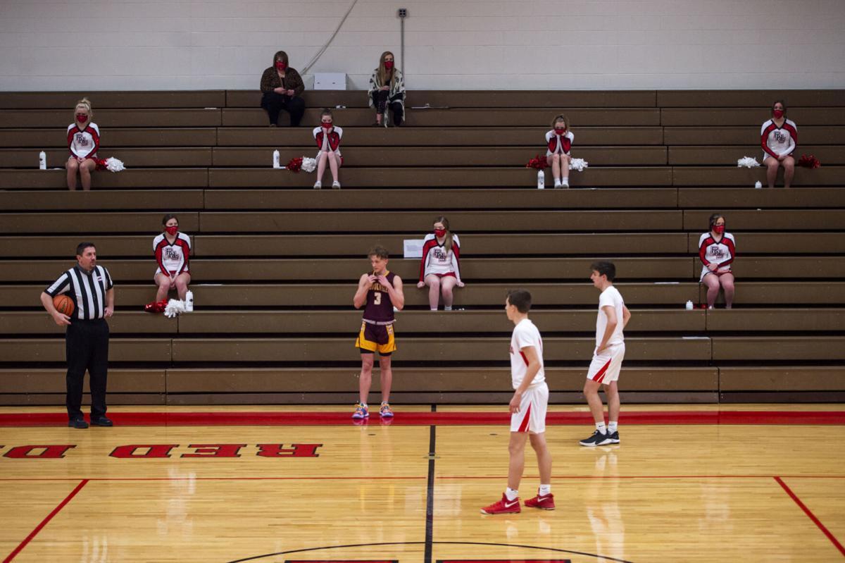 Brookville vs. Rustburg boys basketball