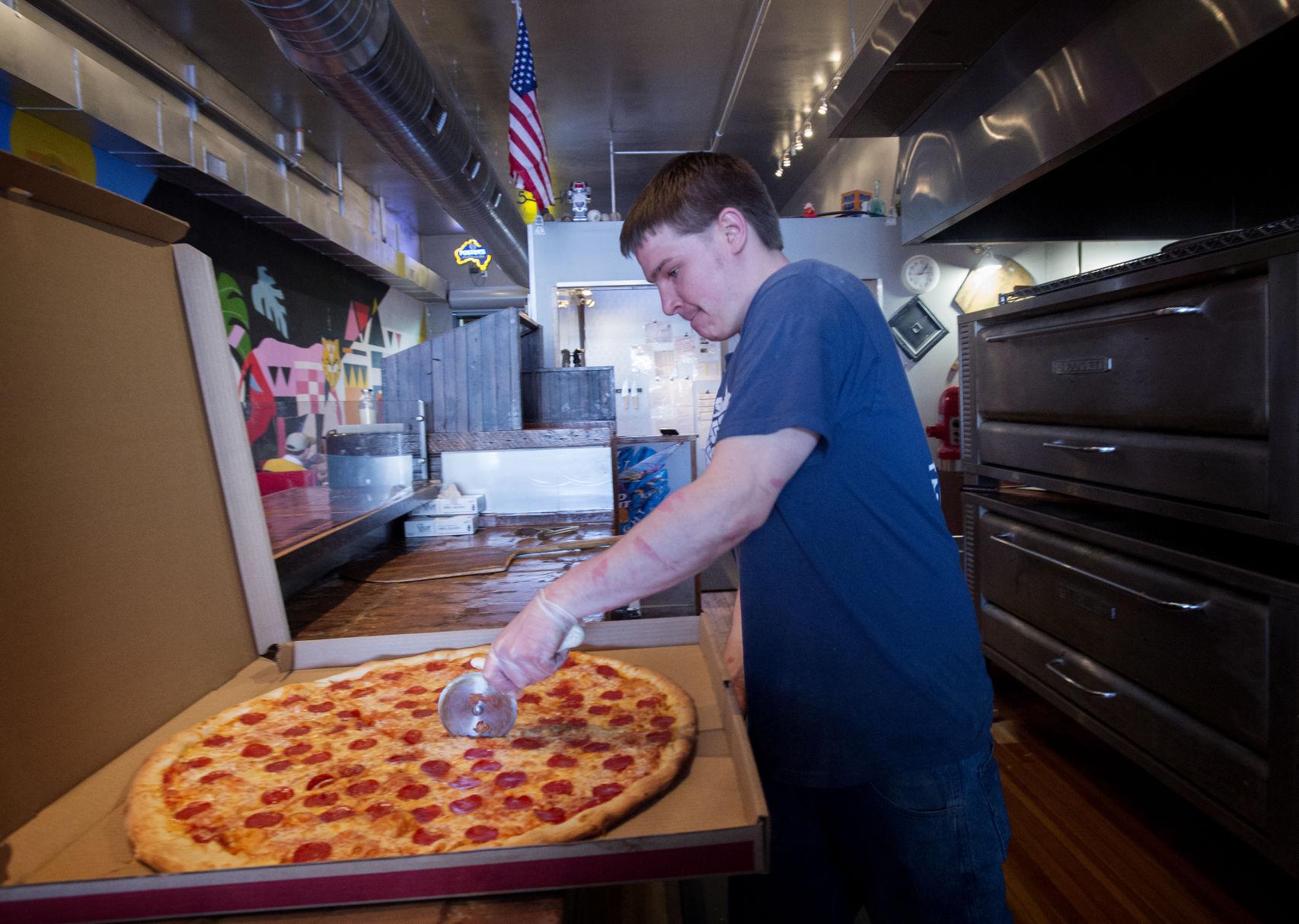 Amateur pizza challenge