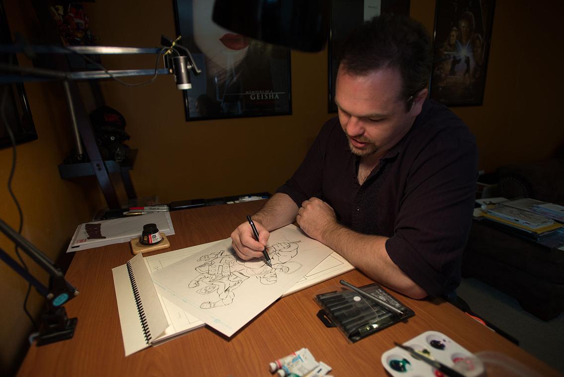The Adventures Of Matt Slay Local Illustrator Talks About