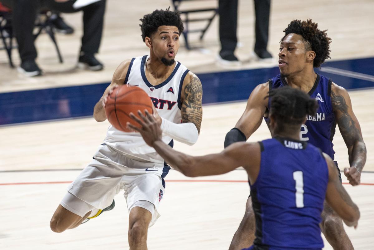 Liberty vs. North Alabama Basketball