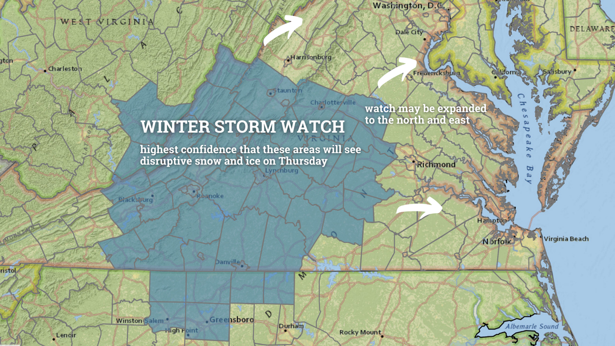 Winter storm watch