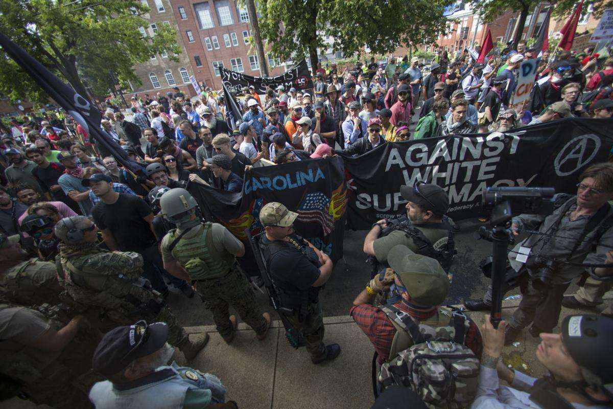 Photos Unite The Right Rally In Charlottesville Turns